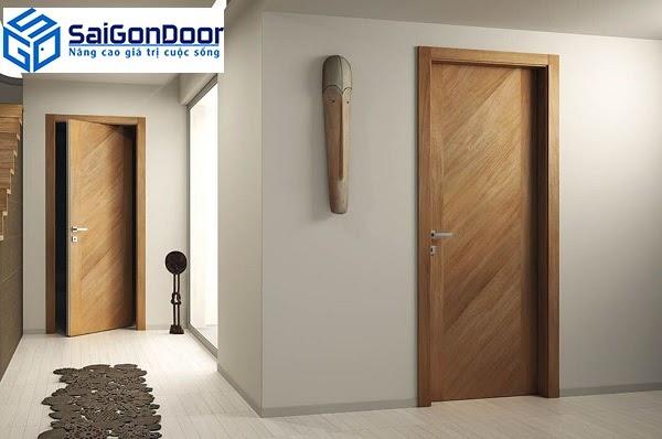 5 lý do nên chọn cửa gỗ công nghiệp cho nội thất gia đình