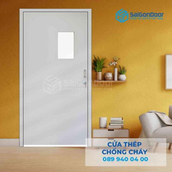 Cua thep chong chay P1G1 luoi thep.jpg SGD TCC
